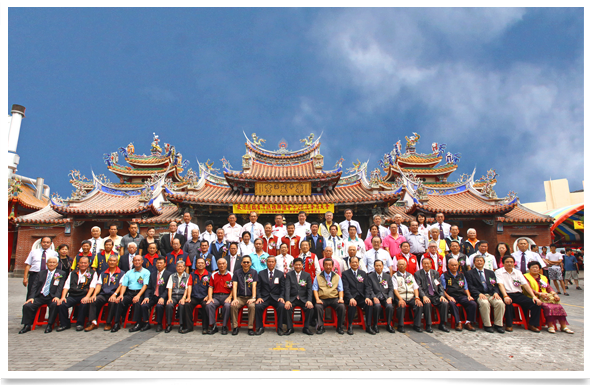 台中樂成宮台灣媽祖聯誼會 第二十六屆會員大會 合照